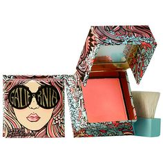Shop Benefit Cosmetics' GALifornia Blush at Sephora. The golden pink blush blends bright pink with shimmering gold. Benefit Cosmetics, Makeup Cosmetics, Heart Attack Symptoms, Tomato Nutrition, Calendula Benefits, Stomach Ulcers, Coconut Health Benefits, Insect Bites, Perfume