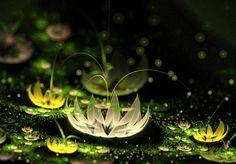 Lotuses Amazon. by Kondratij.deviantart.com on @deviantART