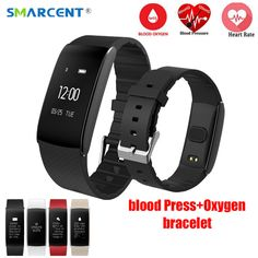 Teamyo New Smart Bracelet heart rate monitor cardiaco watch Blood Pressure Blood Oxygen Smart wristband Waterproof Blood Pressure Watch, Heart Pressure, Cardio, Wearable Device, Smart Bracelet, Heart Rate Monitor, Fitness Tracker, Tech Gadgets, Portable