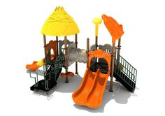 """Noahs Park and Playgrounds - Dogwood Farms Structure- Small playground area? No problem! Our Dogwood Farms Structure is the PERFECT structure for you. With a safety zone of just 23' 8"""" x 33', this nature themed play unit is great for smaller area. It's ADA accessible and a great choice for schools, day cares, and churches!(http://www.noahsplay.com/ada-equipment/ada-structures/dogwood-farms-structure/)"""