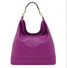 New style Mulberry effie hobo bag Hot Fuchsia Leather - how cute is this handbag?! I wish I could afford a Mulberry!