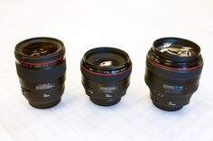 The Holy Trinity of Canon Lenses | It really is! *drool*