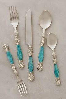 Kitchen Collection: all about aqua (& turquoise) If you're looking for a kitchen collection that's all about aqua, then you're in luck! Your entire kitchen can be aqua-ed up in just a few minutes! Azul Tiffany, Moroccan Wedding, Shades Of Turquoise, Turquoise Accents, Turquoise Color, Turquoise Jewelry, Kitchen Collection, Kitchen Accessories, Anthropologie