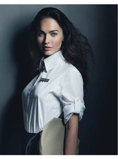 Megan Fox photographed by Craig McDean, styled by Alex White; W Magazine March 2010.