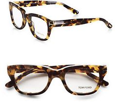 I love Tom Ford Glasses. I'm into great hinge designs like Persol makes- Tom Ford Havana glasses fit this bill. Tom Ford Glasses, New Glasses, Moda Animal Print, Looks Style, My Style, Classic Style, Just In Case, Just For You, Cheap Ray Ban Sunglasses