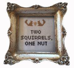 PDF: Two Squirrels, One Nut