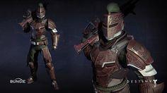 ArtStation - Destiny: Titan Iron Banner Armor, James Yavorsky