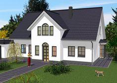 Living 166 Klinker - Hanlo Haus - http://www.hausbaudirekt ...