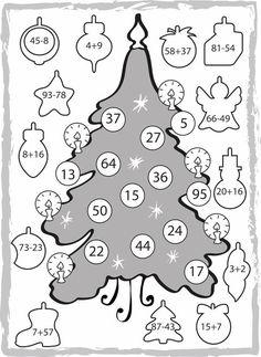 English Grammar, Math Games, Mathematics, Advent, Bullet Journal, Clip Art, Kids Rugs, Learning, Christmas