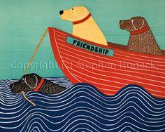 Stephen Huneck - Friendship
