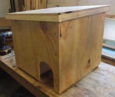 Feralvilla Outdoor Cat Shelter Project Version $48.95