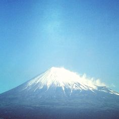 Mountain, Mount Fuji in Japan