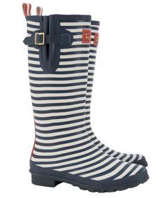 Nautical Rain Boots