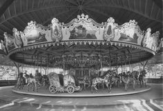 The Central Park Carousel in Rittersville-Allentown PA - Philadelphia   Toboggan  Co Historic PTC 53 Carousels PTC Archive photo.crop