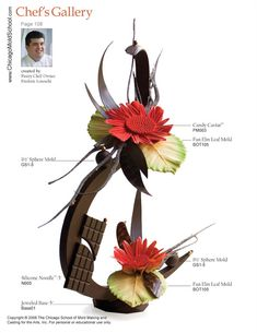 Chocolate Showpiece created by Pastry Chef Frederic Loraschi.
