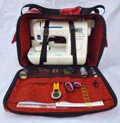 Sewing machine bag.