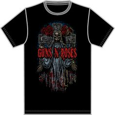 "Guns N Roses - BLACK / MT0BGR05 @ INR 599.00. Size Availabe - L, M, S. For order call : 022-24455054/55. You can also leave a message on our Facebook Page -""Sagarika Music"""