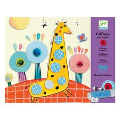 This collage kit is an ideal gift set for children with a creative streak. It contains four large beautifully illustrated images on thick card and includes lots