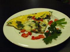 Omeleta šampiónov