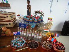 Menina Atitude: Dicas de decoração - Festa com tema de viagem!!!