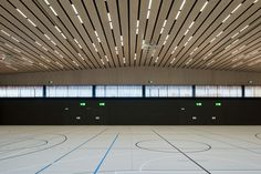 Lussy Sport Hall / Virdis Architecture