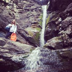 Take a picture in front of any natural waterfall.   #Q132 #questival #cotopaxi #gearforgood