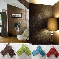 Buy Chocolate Brown eco-friendly waterproof fine glitter powders wallpaper for the wall wallcovering at Wish - Shopping Made Fun Glitter Fabric, Chocolate Brown, Eco Friendly, Display, Wallpaper, Fun, Color, Floor Space