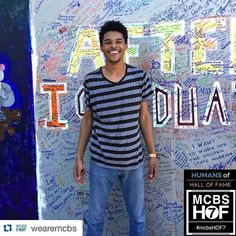"""#Repost @wearemcbs  """"My favorite thing about Hall of Fame is the sense of community."""" <3 - Darius Film Student"""