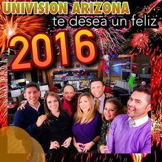 Después de nuestro último noticiero del año! #feliz2016 #NoticiasAz #Soloalas10 #NewYear #2016 @jesusquinoneztv @heidi_renpe @newsanchor @patricia_batres @jorgeunivisionaz