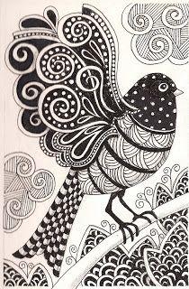 Banar Designs: More zentangles