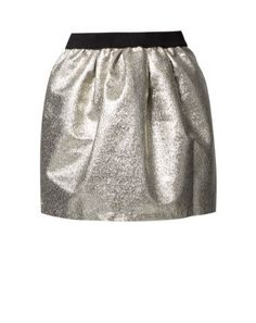 Selected Femme GAMIL Mini skirt silver by Selected Femme