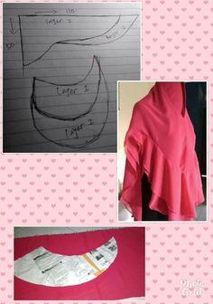 Best 12 khidmat jumno - Her Crochet Diy Fashion Hijab, Muslim Fashion, Women's Fashion, Clothing Patterns, Sewing Patterns, Dress Patterns, Hijab Style Dress, Turban Hijab, African Fashion Ankara
