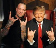 Donald Trump Devil's Horns