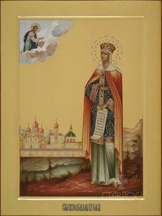 Church Icon, Orthodox Icons, Saints, Painting, Art, Art Background, Painting Art, Kunst, Paintings