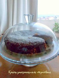 Σιροπιαστό κέικ καρύδας χωρίς αυγά και βούτυρο - cretangastronomy.gr Fruit Tart, Tea Time, Pudding, Desserts, Food, Cakes, Random, Ideas, Tailgate Desserts