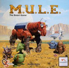 Rezension der Brettspielversion des Computerklassikers M.U.L.E.