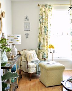 Art studio decorating in the #loveyourneighbor design house with a modern, bohemian, colorful twist.