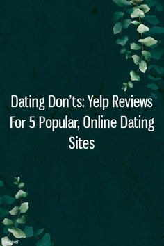 Yelp online dating