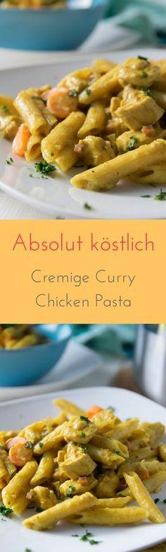 So lecker & so einfach zu kochen - One Pot Curry Chicken Pasta