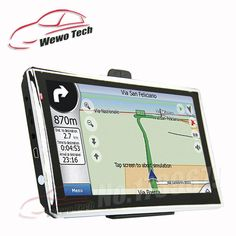7 inch HD Car Navigator  128MB 4GB Wince6.0 800MHZ 2016 Map Russia/Belarus/Spain/ Europe/USA Canada/Israel Gps Navigation *** To view further for this item, visit the image link.