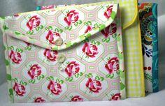 Crafty Gemini | Fabric Envelope Folders PDF Pattern and Videos | http://craftygemini.com