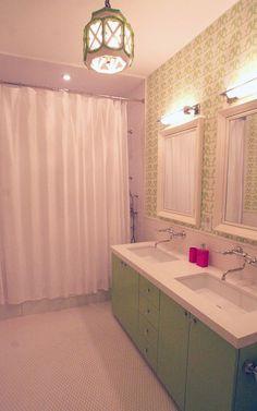 Dorynu0027s Gorgeous Kid Oases U2014 Kidsu0027 Room Tour. Little Girl BathroomsKid  BathroomsBaby BathroomGreen BathroomsSimple BathroomBathroom IdeasCute ... Part 90
