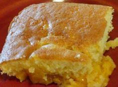 Yum... I'd Pinch That! | Gooey Peach Cake