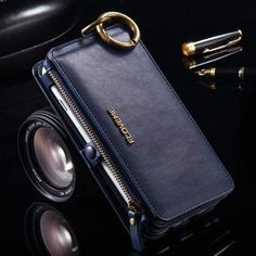Shockproof Genuine Leather Flip Wallet Case Cover for Samsung Galaxy Iphone Leather Case, Iphone Wallet Case, Leather Wallet, Iphone Cases, Couple Cases, Best Iphone, Iphone 11, Iphone Models, Luxury
