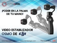 Productos DJI de venta en Foto Regis. Encuentralos en www.tiendaregis.com o en sucursales.