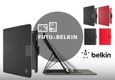 FUTU x BELKIN KONKURS 1. Ściągnij aplikację FUTU Paper lub FUTU za darmo z App Store http://bit.ly/17bUHVb / http://bit.ly/16bkdTb 2. Pokaż nam gdzie ich używasz 3. Wygraj etui marki Belkin