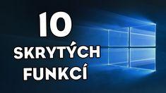10 SKRYTÝCH FUNKCÍ VE WINDOWSU!