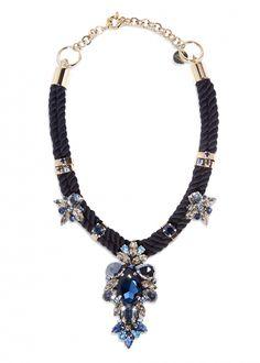 Glitter Stone Necklace  - New This Week - Matthew Williamson