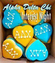 Alpha Delta Chi- Cookies!