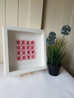 Handmade Pink paper flowers  A great alternative to by Orahdesigns